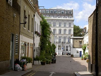 Typical Street In The Royal Borough Of Kensington And Chelsea In London.jpg